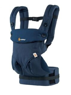 Эрго-рюкзак Ergo Baby Carrier Four Position 360, темносиний